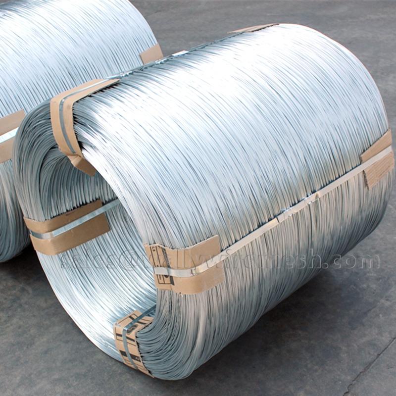 Galvanized steel wire stem smooth merchant