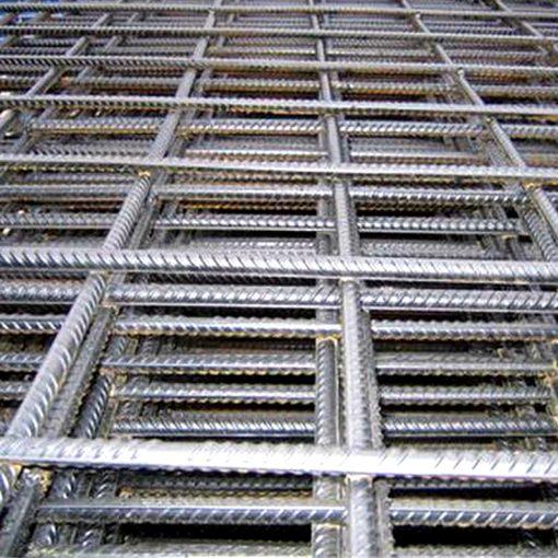 concrete construction rebar mesh