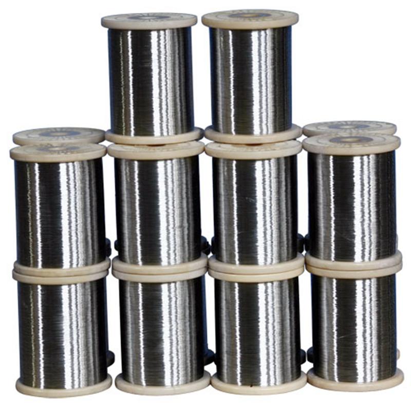Metal Wire Spools : Spool wire alambre inoxidable