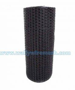 Black vinyl wire netting