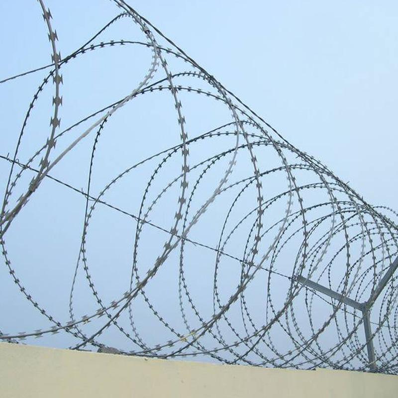 Concertina Razor Wire ,concertina wire, ,barbed tape, razor barrier,