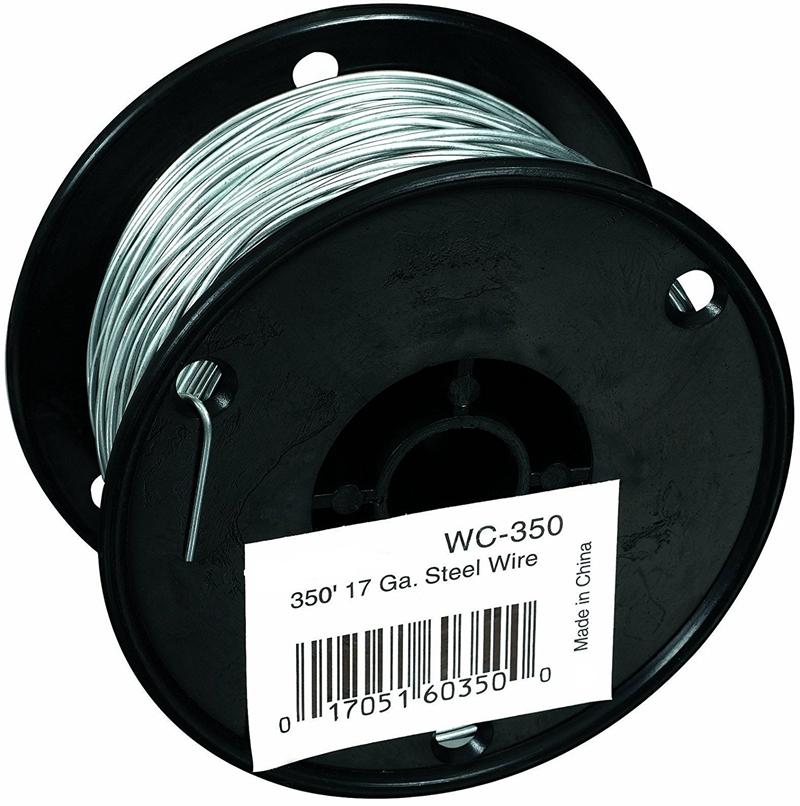Metal Wire Spools : Spool galvanized steel wire wooden peg stick
