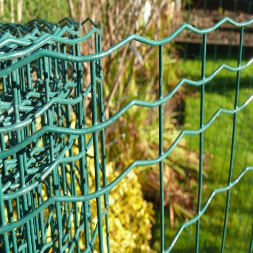 PVC Coated Weld Mesh Border Fencing