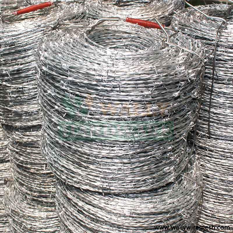 high tensile steel barbed wire, , alambre de puas, Hebei Wally Hardware