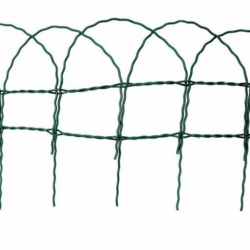 Garden Border Fence ,PVC Green Wire Mesh Edging Edge Lawn Fencing